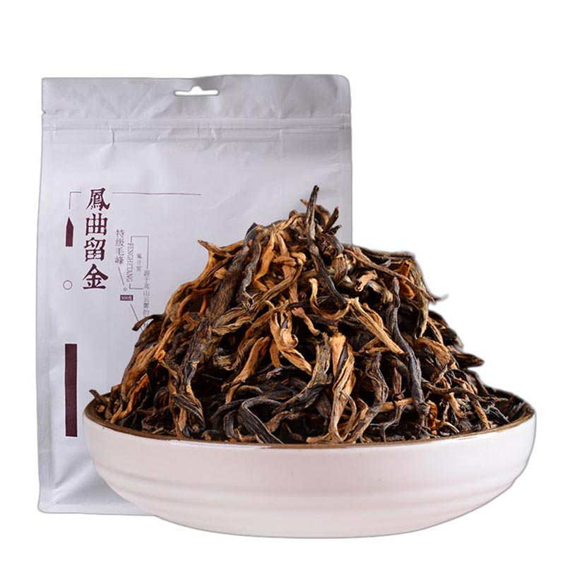 2019 Year Yunnan Fengqing Dianhong Special Grade Mao Feng Kung Fu Hong Tea Golden Bud Black Cha Chinese Special Gifts