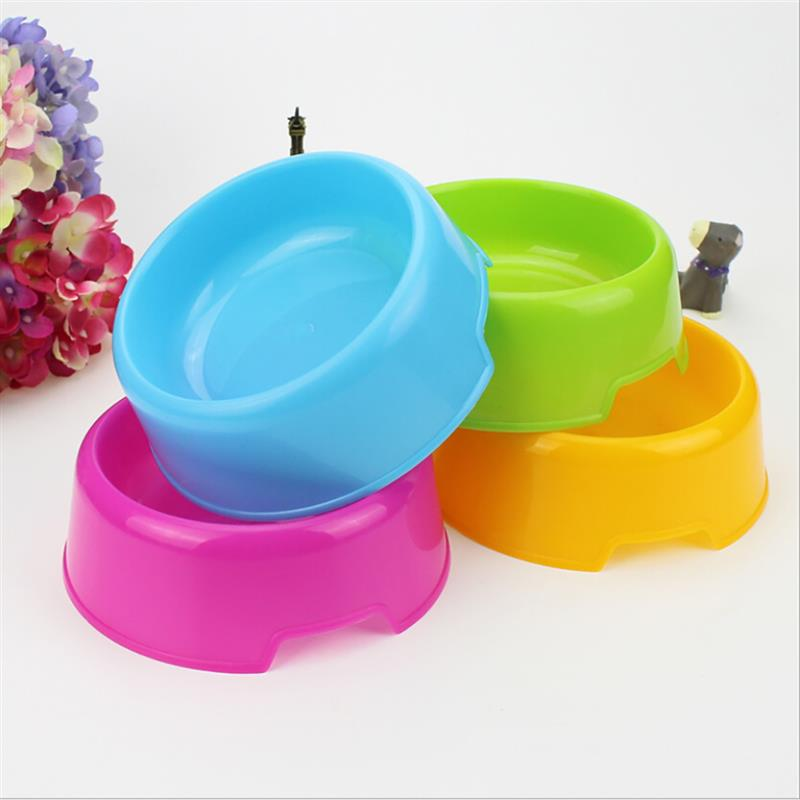 New Eco-Friendly Wheat Straw WS Pet Bowl For Dogs And Cats Candy Color Pet Puppy Food & Water Bowls Anti-Skip Pet Feeding Supply