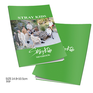 Kpop Stray Kids 5th Mini Album <Cle : LEVANTER> Mini Photobook K-pop Stray Kids Photo Album Mini Book Photo Card Fans Collection(China)