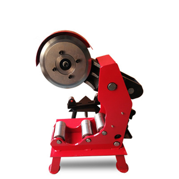 Red Pipe Cutting Machine Range 76-219 Stainless Steel Fire Electric Cold High Efficiency Tool