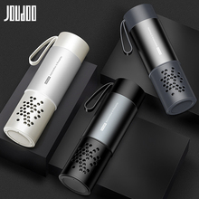 JOUDOO Double layer Water Bottle For Couple High Quanltiy Direct Bottle Of Water Portable Car Plastic Glass Cup Drinkware 35