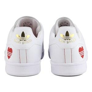 Оригинальный Новое поступление Adidas Originals STAN SMITH унисекс обувь для скейтбординга кроссовки