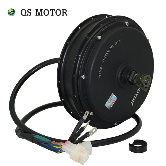 QS Motor  3000W 205  50H V3 Electric Hub Motor for electric bicycle 48/60/72V 4T/5T high speed Motor