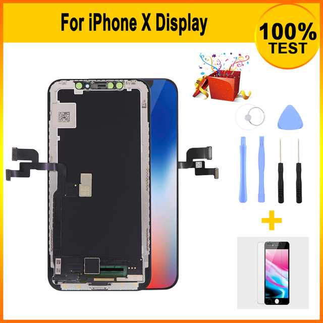 Grade AAA  LCD Screen For iPhone X LCD Display with 3D Touch Screen Digitizer Assembly Replacement