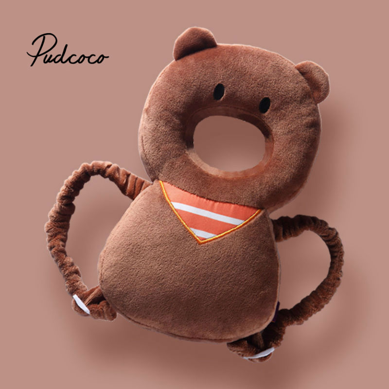 3-24M Baby Head Protection Pillow Neck Safe Cushion Soft Breathable Infant Anti-fall Pillow Infant Toddler Sleep Positioner