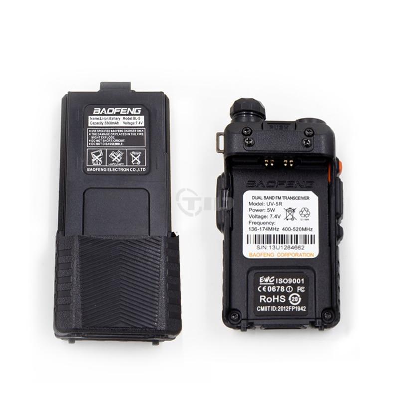 Baofeng Walkie Talkie uv 5r 3800 Dual Band VHF UHF 136-174/400-520mhz Two-way Radio walky talky uv-5r Radio Station 5