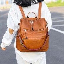 Fashion School Bags for Teenage Girls Women Backpack Rivets Shoulder Bag School Bag Big Pu Leather Women Backpack Small Rucksack