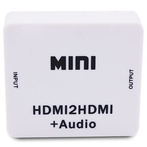 Image 3 - Hot 3C 1080P Hdmi Extractor Splitter Hdmi Digital To Analog 3.5Mm Out Audio Hdmi2Hdmi