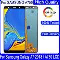 6,0 ''Оригинальный ЖК-дисплей для Samsung Galaxy A7 2018 A750 SM-A750F A750FN A750G ЖК-дисплей + сенсорный экран в сборе Запасная часть