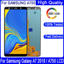 6.0'' Original LCD For Samsung Galaxy A7 2018 A750 SM-A750F A750FN A750G LCD Display+ Touch Screen Assembly Replacement Part(China)