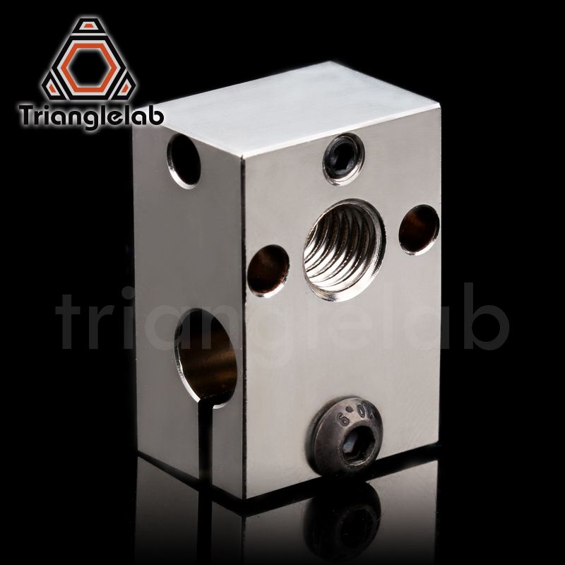 Trianglelab Dragon Heat Block For Dragon Hotend High Temperature Heating Block Repair Parts Compatible With V6 HOTEND