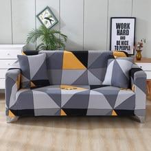 Plaid housse de canapé pour salon Funda canapé housse de canapé géométrique sectionnel fauteuil housse extensible meubles protégés