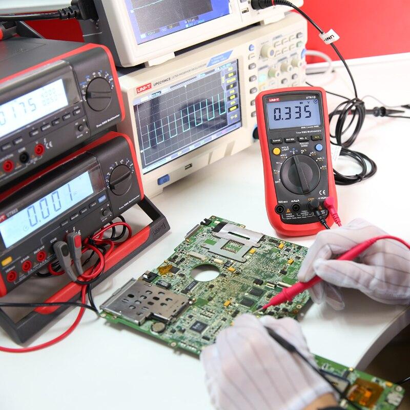 LED Test Handheld UT61E RMS Display T Range Multimeter Counts True UNI Voltage Current Precision 22000 Auto Digital Meter High