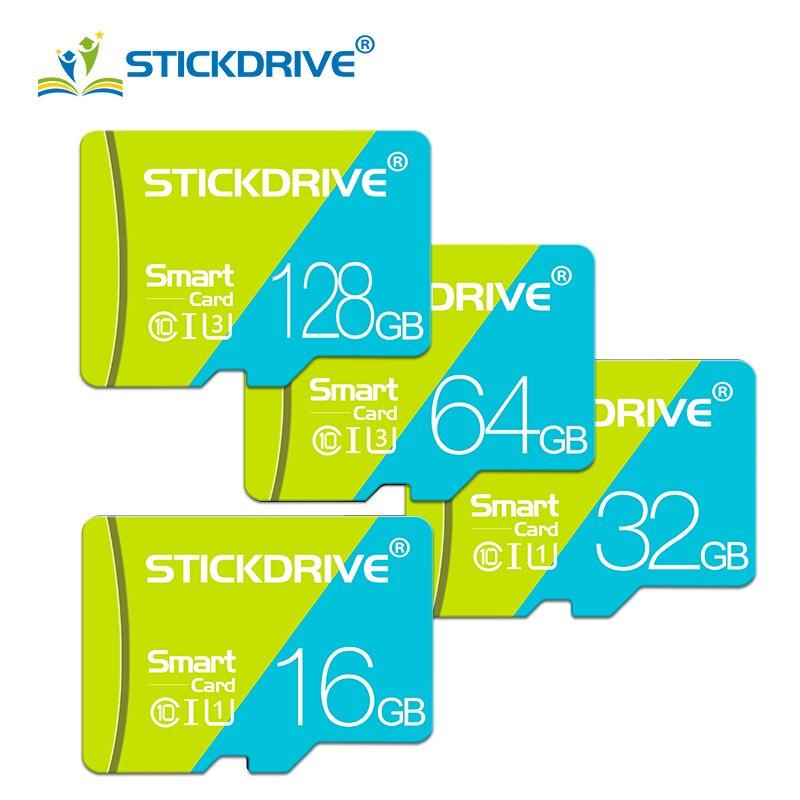 Оригинальная карта памяти 128 Гб 64 ГБ 32 ГБ, высокоскоростная флеш-карта 16 ГБ 8 ГБ, карты памяти microsd TF/SD для планшета/камеры/мобильный телефон