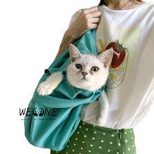 2 шт. наружная Складная Сумка-переноска для кошек, сумка для домашних животных, рюкзак для собак, переносные Переносные сумки, дышащая портативная удобная легкая стирка