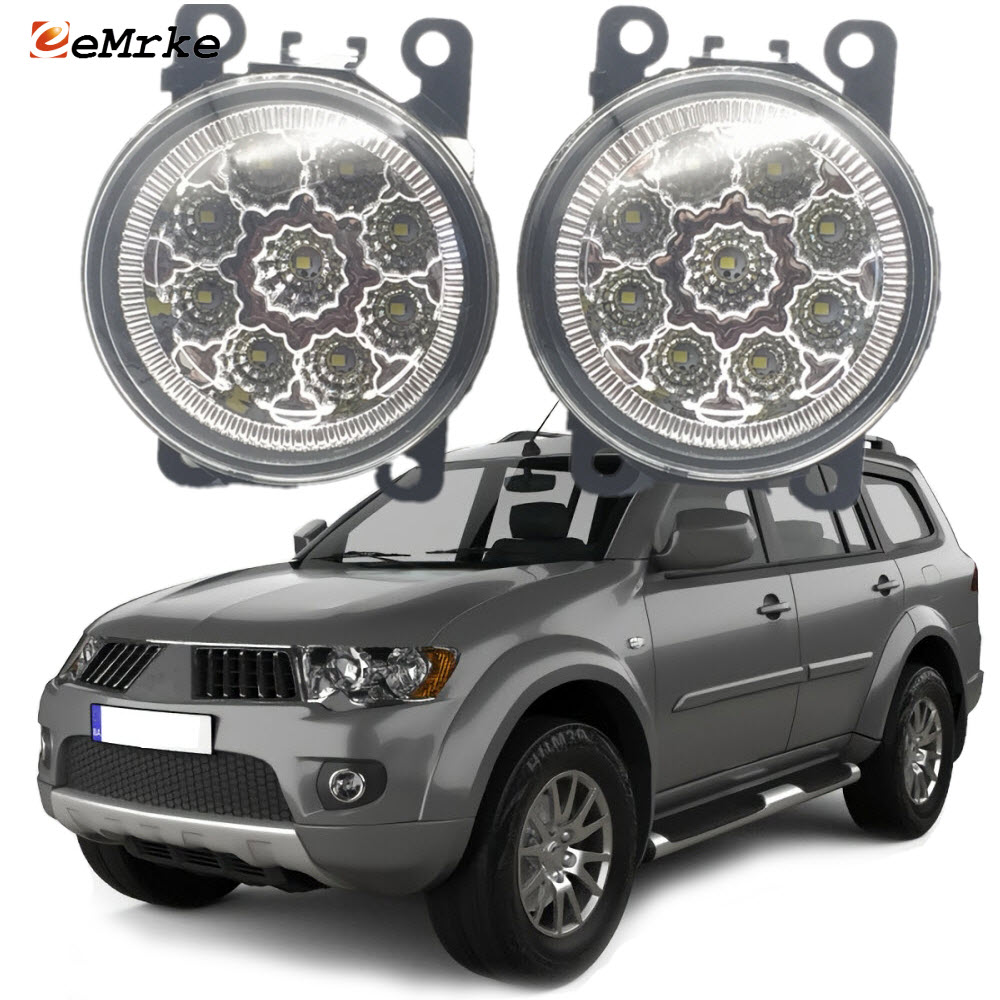 Car-Styling for Mitsubishi Pajero Sport 2 Gen. 2009 2010 2011 <font><b>2012</b></font> Led Fog Lights H11 H8 Replacement Fog Head Lamp image