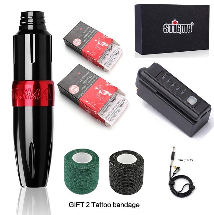 Complete Beginner Permanent Makeup Tattoo Kit Motor Pen Machine USA Color inks tattoo Power Supply Set Tattoo Cartridge Needles