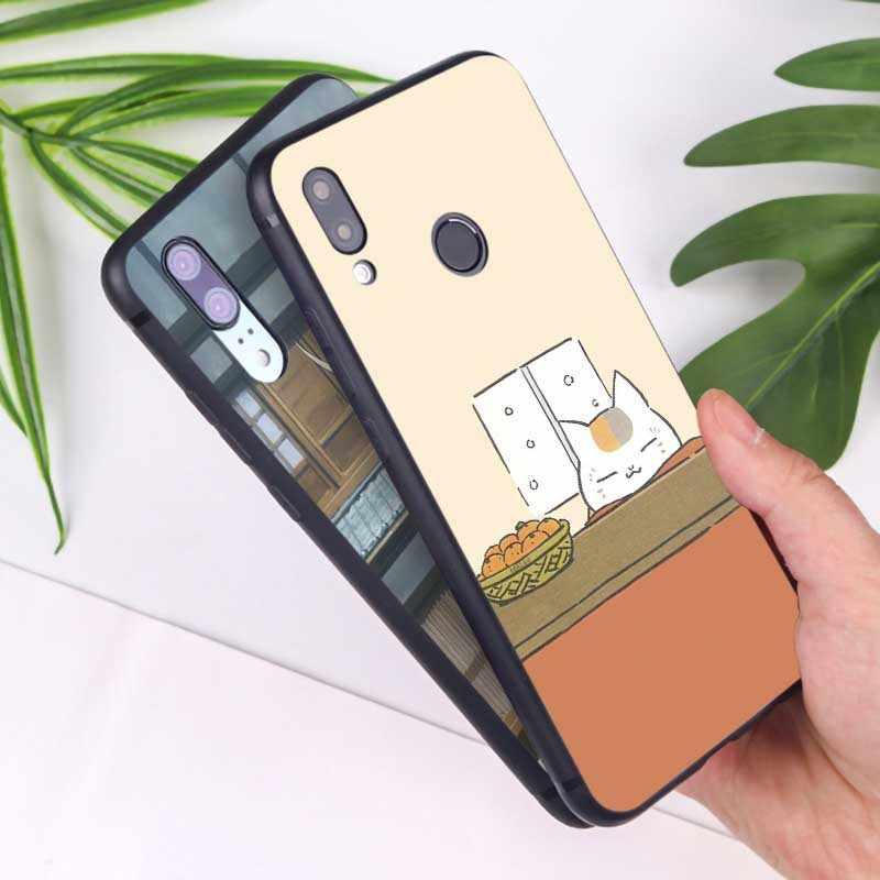 Dla xiaomi redmi note 7 7a k20 pro 7 uwaga 5 6 4x miękkie pokrywa silikonowa etui na telefon Anime księga Natsume przyjaciółmi