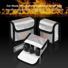 Flight Battery Safe Bag for DJI Mavic MINI Drone Protective Case Transport Safe Protector Explosion proof Anti scratch Accessory