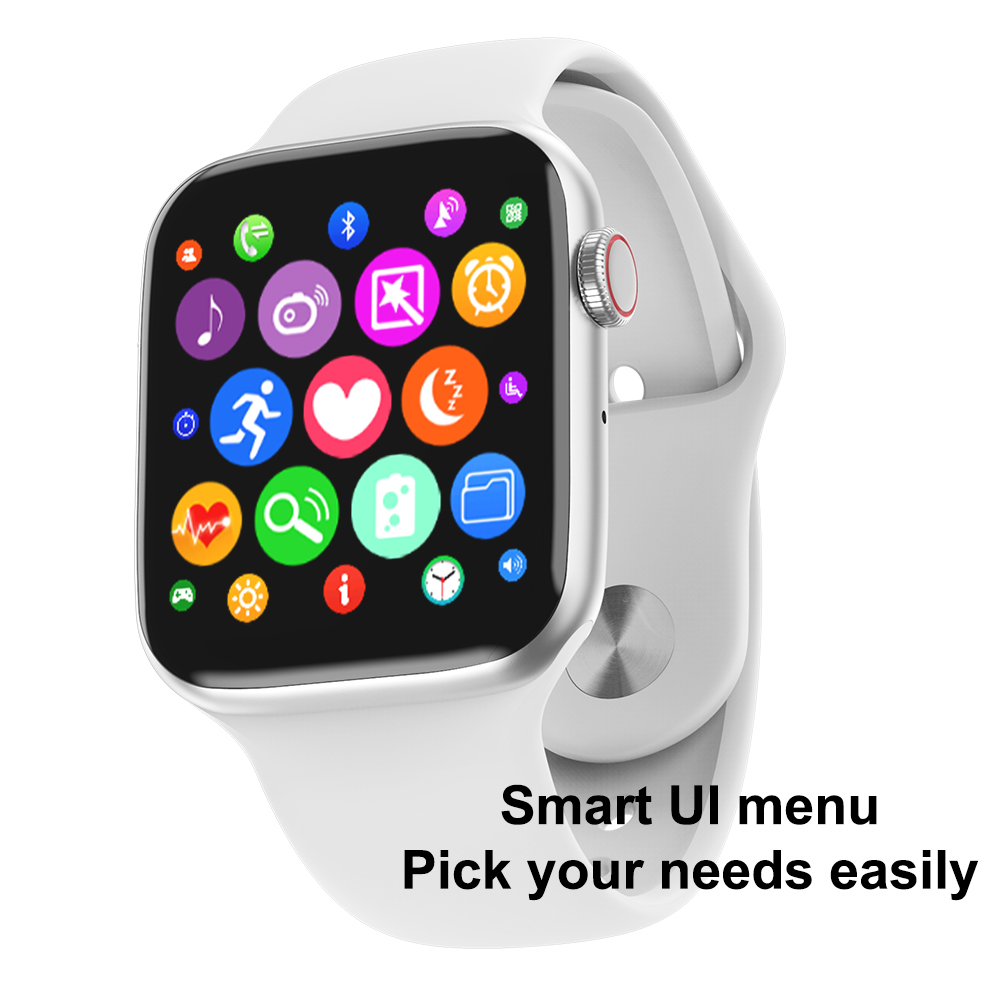 TIMEWOLF Full Touch Screen Smart Watch W34 Ecg Ip68 Waterproof Smartwatch Serie 4 Bluetooth Smart Watch For Android Iphone IOS