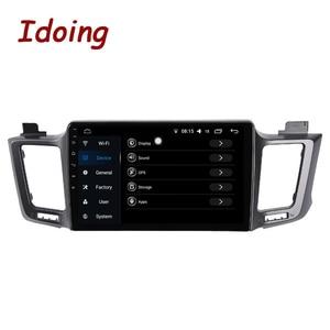 """Image 3 - Idoing 10.2 """"4G + 64G 8 Core Autoradio Android Multimedia Speler Voor Toyota RAV4 4 XA40 5 XA50 2012 2018 Gps Navigatie Geen 2din"""