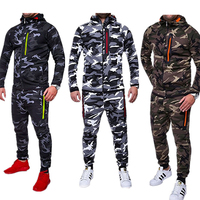 2019 New Men Military Uniform Camouflage Clothing Pant Adult Army Combat Shirt Soldier Outdoor Training Costumes M 3XL