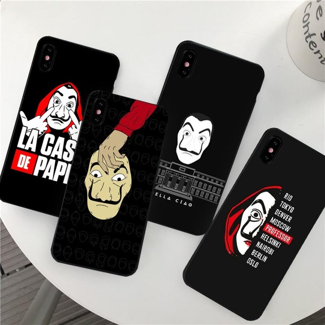 3D LA CASA DE PAPEL IPHONE CASE