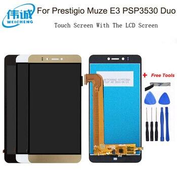 WEICHENG для Prestigio Muze E3 Muze D3 PSP 3530 PSP3531 DUO ЖК-дисплей + кодирующий преобразователь сенсорного экрана в сборе, замена PSP3530Duo