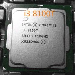 Intel Core i3-8100T 3.1G 6MB CPU i3 8100T Socket 1151 / H4 / LGA1151 14nm quad-core CPU