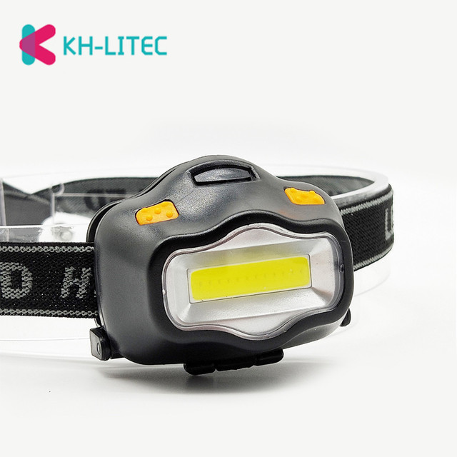 Outdoor Lighting Head Lamp 12 Mini COB LED Headlight For Camping Hiking Fishing Reading Activities White Light Flash Headlamp 3