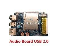 USB аудио плата для ноутбука Lenovo для Ideapad Y480 QIWY3 90200373 90200374 NBX00011O00 с кабелем Новинка