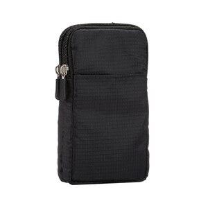 Outdoor Casual Cross-Body Shoulder casualowy portfel torba na telefon komórkowy dla iPhone11 / 11 Pro /11 Pro Max / XS Mas / XS / X telefon komórkowy B