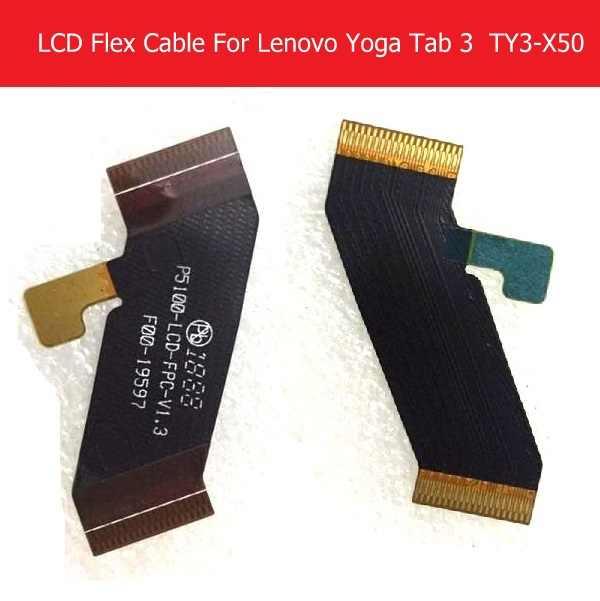 Cabo flexível lcd original para lenovo yoga tab 3 YT3-X50M x50f x50l p5100 lcd conectar placa-mãe flex fita p5100_lcd_fpc_v1.3