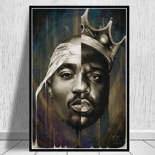 West Coast Hip Hop Tupac Music Poster 6