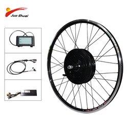 48V 1000W 1500W E rower tylne koła silnik bezszczotkowy piasta silnik elektryczny kontroler rowerowy z LCD darmowa wysyłka bicicleta
