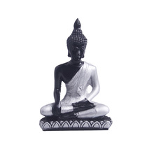 2020 Buddha Statue Thailand Buddha Sculpture Transparent Resin Hand Made Buddhism Hindu Fengshui Figurine Meditation Home Decor