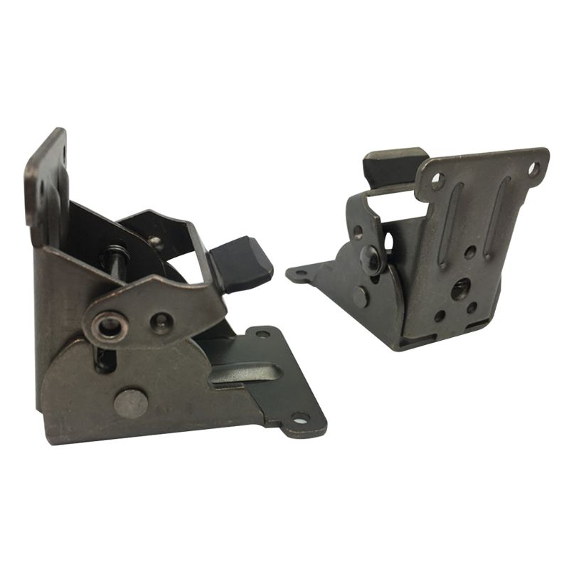 Lock Extension Table Bed Leg Feet Steel Folding Foldable Support Bracket Screw