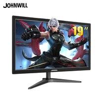 JOHNWILL 19monitor hdmi TFT Gaming Monitor VGA input 21.5 Inch display 1080p pc monitor for PS3 PS4 Raspberry Pi Xbox Windows