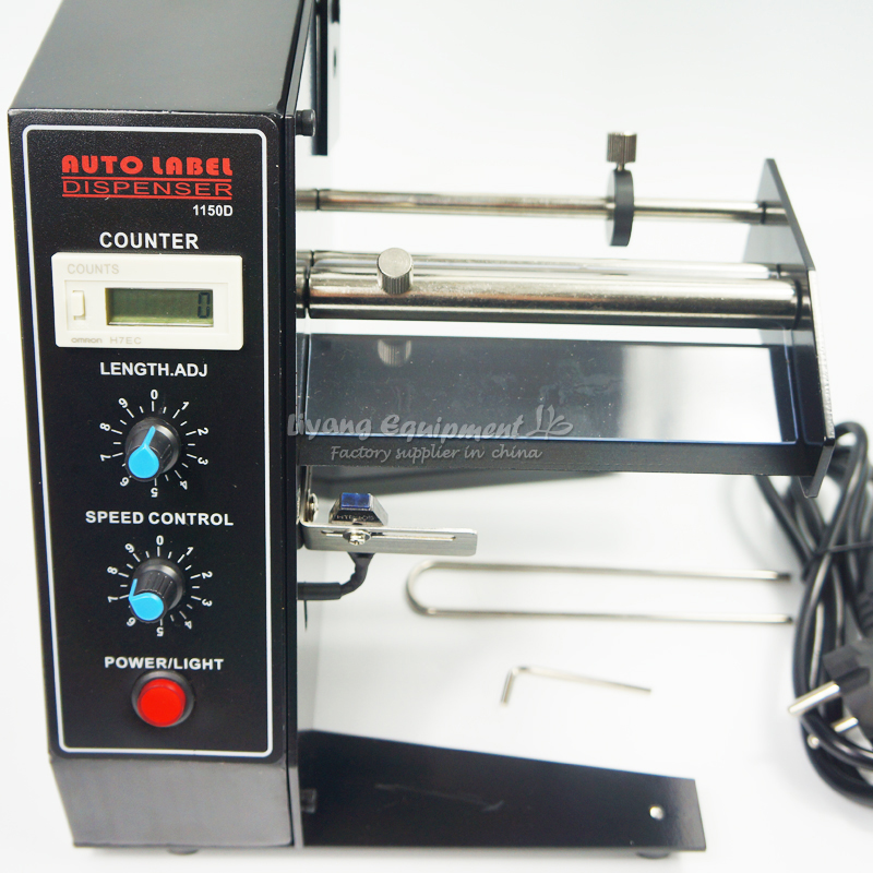 Etiqueta automática do dispositivo da máquina do distribuidor da etiqueta de al1150d 6 dígitos conduziu para o metal