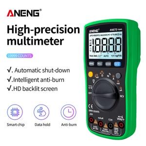 Image 2 - ANENG AN870  Digital Multimeter 19999 Counts True Rms Multimeter Transistor Tester Voltimetro Profesional Capacitance Meter