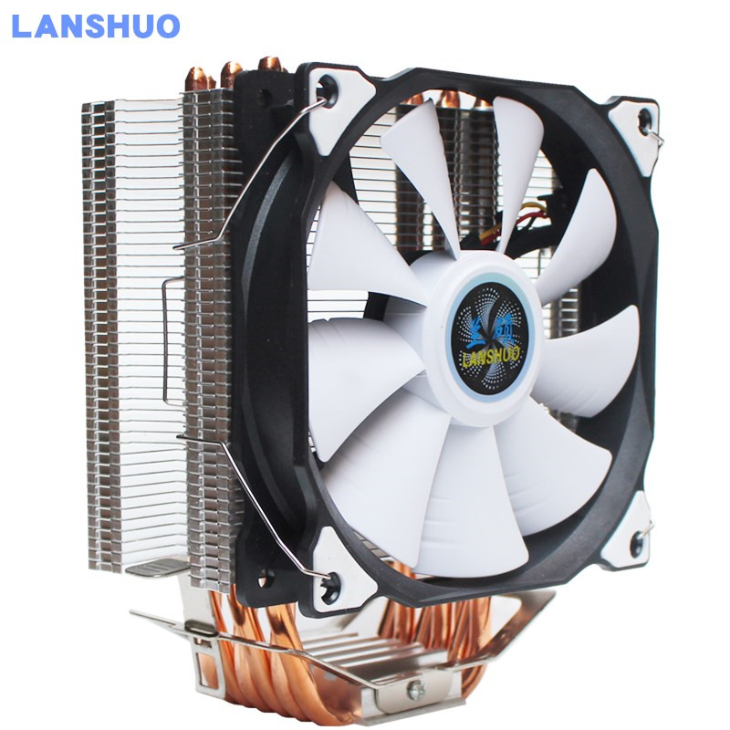 9CM/12CM CPU Cooler Direct Contact 6 Heatpipes freeze Tower Cooling System Radiator CPU Cooling Fan with PWM Fans