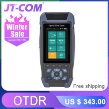 Mini OTDR Fiber Optic Reflectometer 980rev with 9