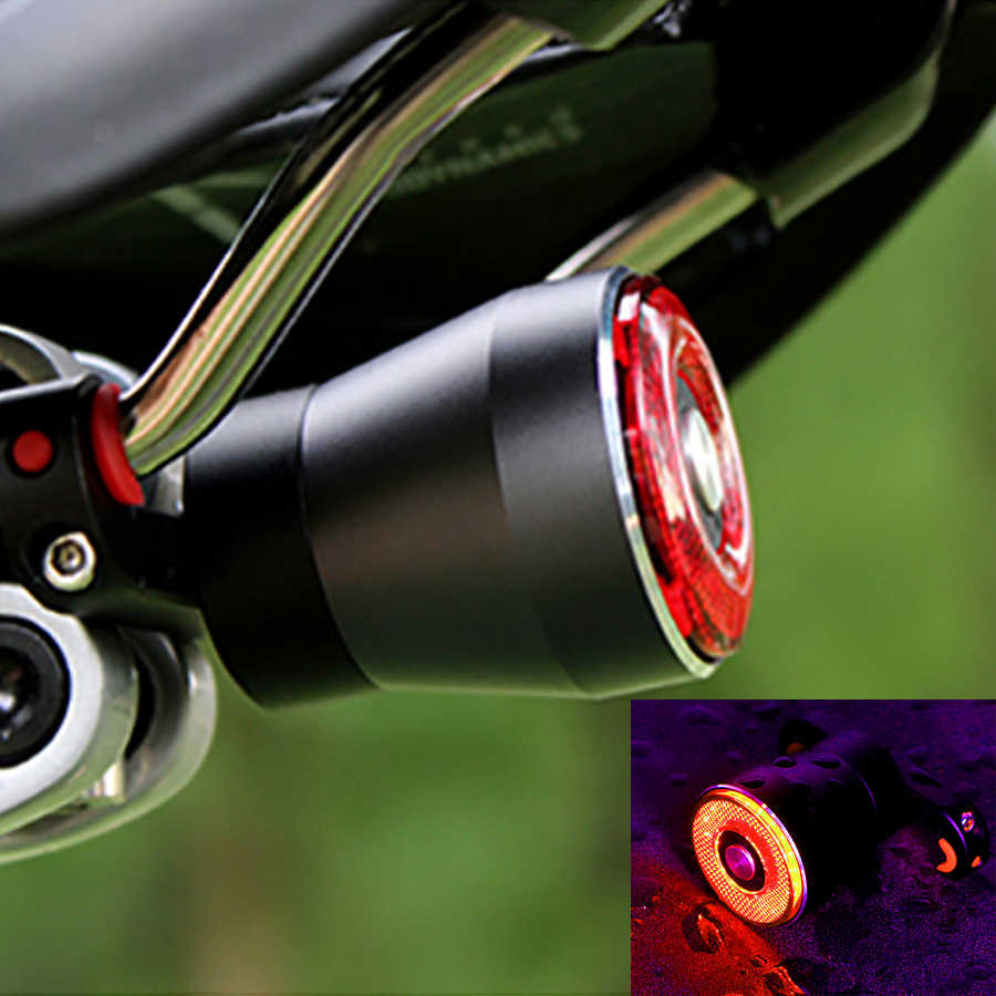 USB Перезаряжаемый велосипедный фонарь, интеллектуальный датчик поворота, стоп-сигнал, задние фонари для велосипеда, MTB, шоссейное велосипедное седло, задние умные велосипедные фонари