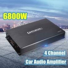 6800W Max 4 Channels Car Sound Amplifiers Class A/B Home Subwoofer Audi