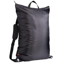 Büyük çamaşır torbası 24 inç X 34 inç fermuarlı, kolej çamaşır sırt çantası 2 güçlü ayarlanabilir omuz askıları için kolej St