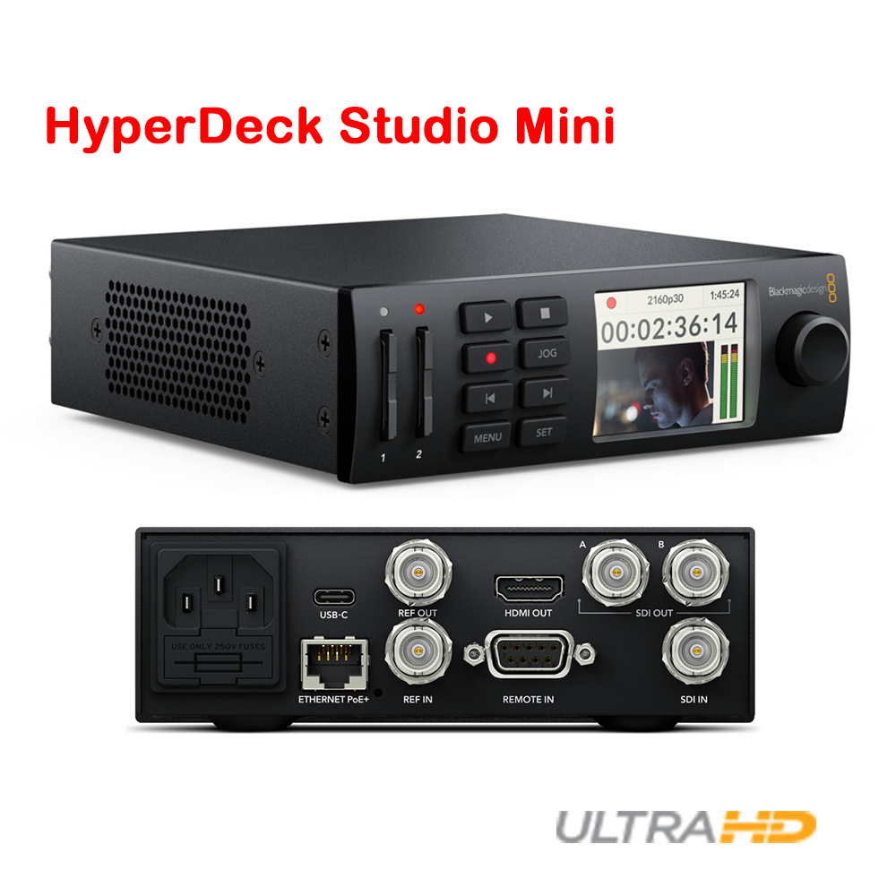 Dhl Shipping Blackmagic Design Hyperdeck Studio Mini Recorder Broadcast Deck Ebay