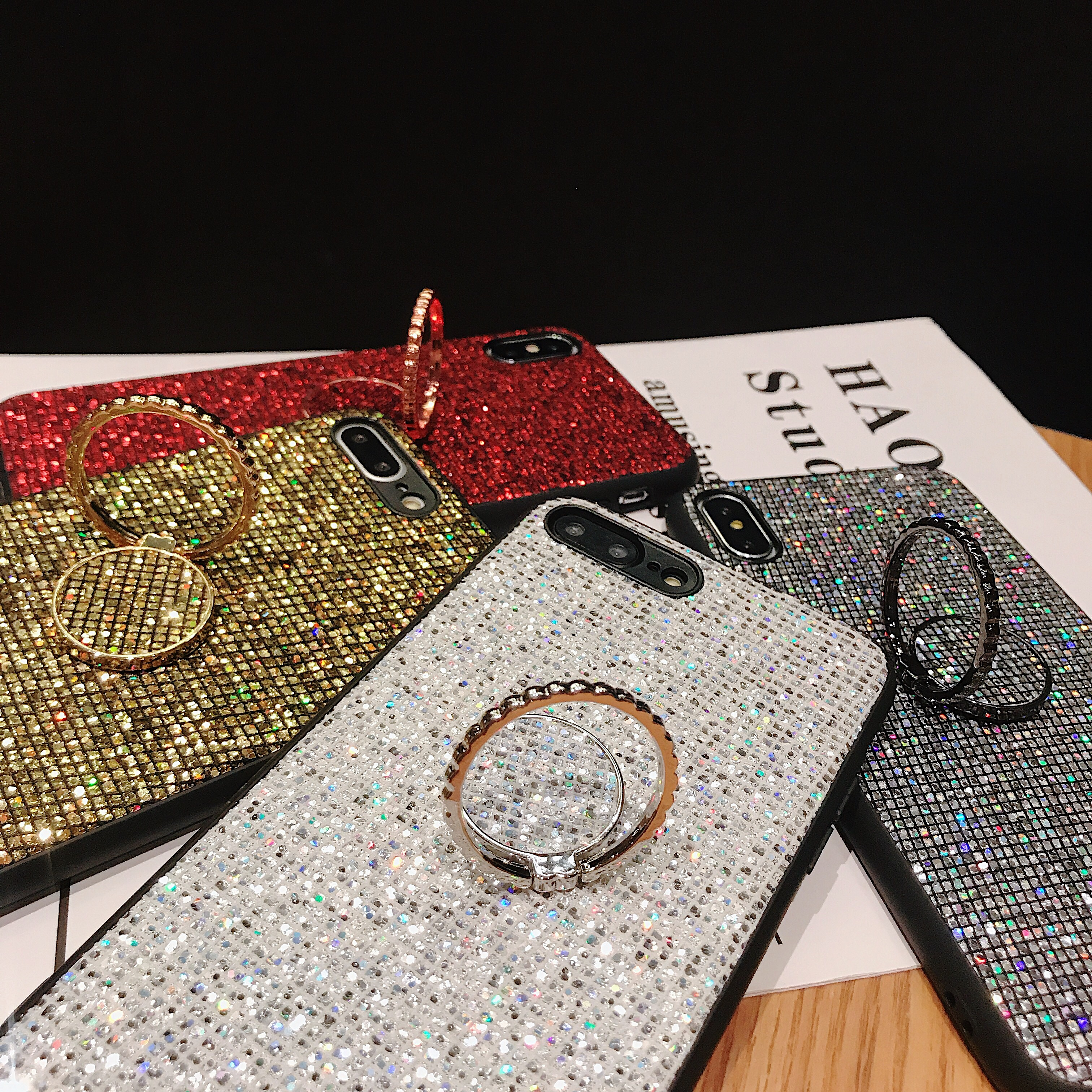 Luxury Shiny Case For Samsung Galaxy A71 51 70 <font><b>50</b></font> <font><b>40</b></font> 30 20 10 80 90 a20e A10S A20 S M10 20 30 with Backet Funda Bling Coque image