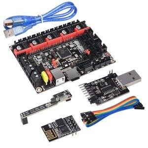 Image 2 - BIGTREETECH SKR V1.4 BTT SKR V1.4 터보 제어 보드 32 비트 3D 프린터 부품 SKR V1.3 TMC2209 TMC2208 Ender3 업그레이드 DIY 키트