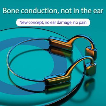 G1 костная проводимость 5,1 Bluetooth гарнитура Беспроводные наушники с креплением на ухо