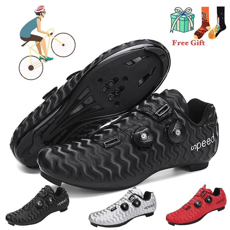 2021 novo estilo especializado estrada mountain shoe lock bicicleta bloqueio sapatos de ciclismo spinning sapato bloqueio pedal conjunto universal